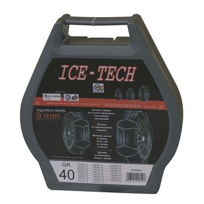 Immagine di CATENE NEVE 9 mm GR  60 ICE TECH