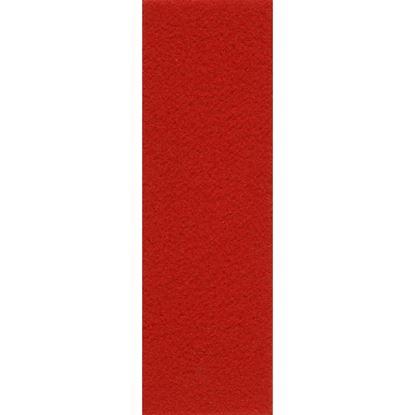 Immagine di Pavimento tessile Stand 271, agugliato piatto, in polipropilene, fondo resinato, spessore 2,7 mm, h 2 mt, colore rosso