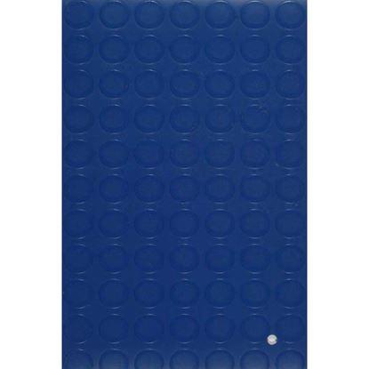 Immagine di Pavimento Bolflex, in PVC multistrato, spessore 1,3 mm, h 1 mt, peso 2 kg/m², colore blu, superficie bollo