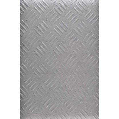 Immagine di Pavimento Bolflex, in PVC multistrato, spessore 1 mm, h 2 mt, peso 2 kg/m², colore metal, superficie bollo