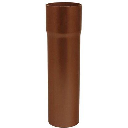 Immagine di Tubo Tecno Imac, discendente, colore rame rosso, Ø 80 mm, 207 cm