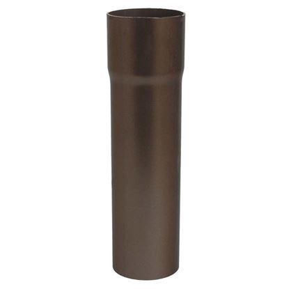 Immagine di Tubo Tecno Imac, discendente, colore marrone, Ø 80 mm, 307 cm