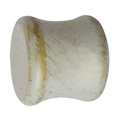 Immagine di Terminale Primula, Easy Basico, Ø 20 mm, 2 pezzi, colore avorio/oro
