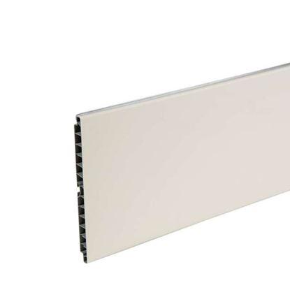 Immagine di Zoccolo cucina, bianco, 100x3000 mm