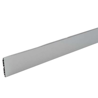 Immagine di Zoccolo cucina, colore alluminio, 100x3000 mm