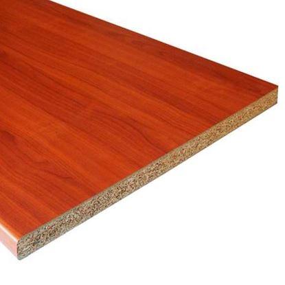 Immagine di Top Cucina, 305x60 cm, spessore 28 mm, ciliegio