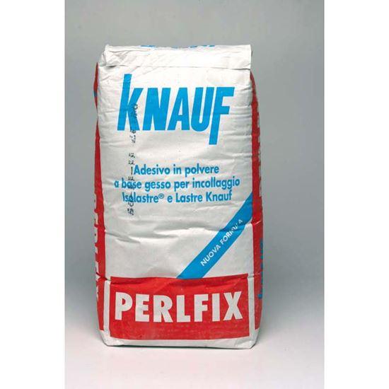 Immagine di Perlfix Knauf, adesivo per l'incollaggio delle lastre e isolastre, confezione 25 kg