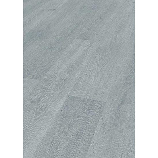 Pavimento laminato robusto confezione da 1 293 mq 12x188x1375 mm colore rovere grigio - Piastrelle in laminato ...