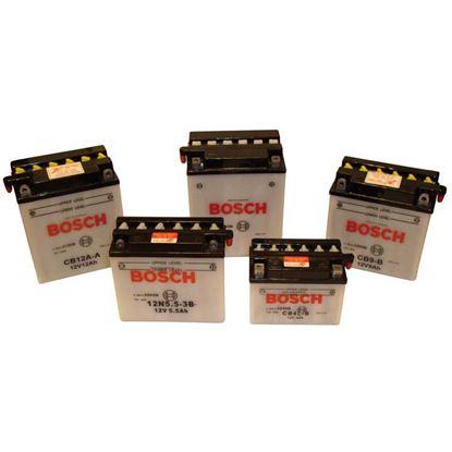 Immagine di Batteria moto Bosch, M4F19, 12 V-6 Ah, spunto 40 A, polarità dx