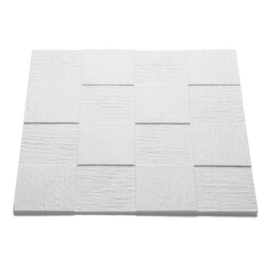 Pannello Per Soffitto In Polistirolo 10 Mm 50x50 Cm Confezione 8
