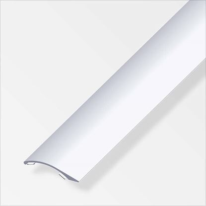Immagine di Profilo di compensazione autoadesivo, 38,5x7,5 mm, alluminio argento 1,0 mt