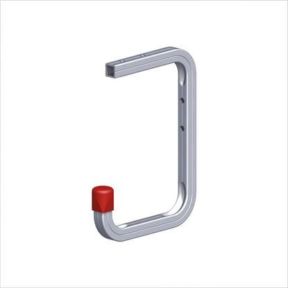 Immagine di Gancio alluminio, 170x220 mm