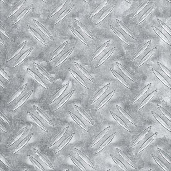 Lamiera Mandorlata Alluminio Naturale 200x1000x2 Mm Ferramenta