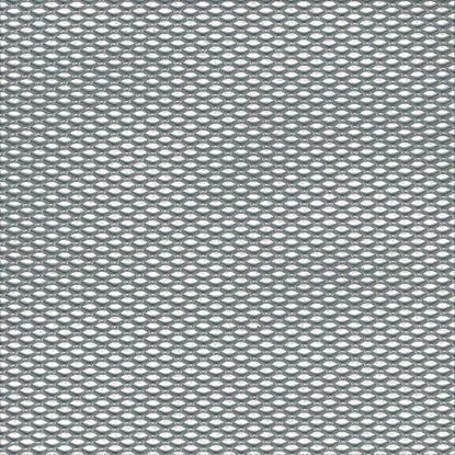 Immagine di Lamiera striata, alluminio naturale, 250x500x1,6 mm
