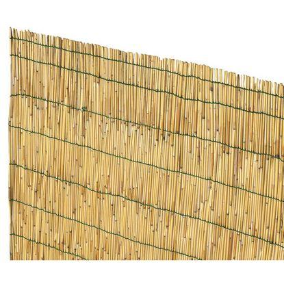 Immagine di Arella Cina, in cannette di bamboo pelato, Ø 4/5 mm, legate con filo plasticato, 1x3 mt