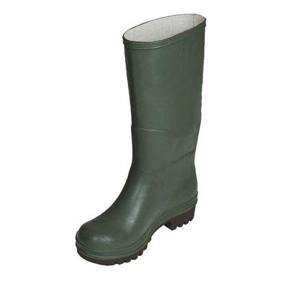 Immagine di Stivale ginocchio, in PVC, suola carrarmato, colore verde, misura 35
