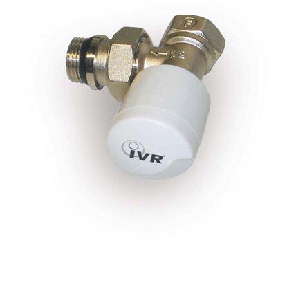 """Immagine di Valvola Saturn, IVR, termostatizzabile, squadro, attacco ferro, 1/2"""""""