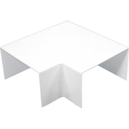 Immagine di Curva piana, colore bianco, 60x40 mm