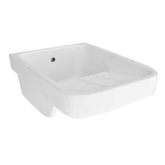 Immagine di Vasca lavatoio, con strizzatoio, 45x60 cm
