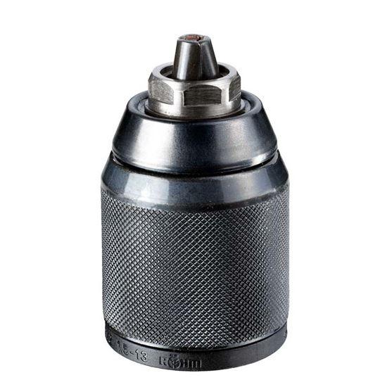"""Immagine di Mandrino DeWalt, autoserrante, 1,5/13 mm, 1/2""""x20 UNF, professionale, 1 ghiera in metallo"""