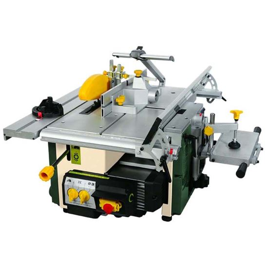 Immagine di Mini combinata Compa 1000 W, Komp 6, motore a induzione, 6 lavorazioni, pialla a filo/spessore, 44 kg