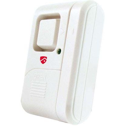 Immagine di Allarme stand alone, per porte finestre, con contatto magnetico, 2 funzioni suoneria, per interni