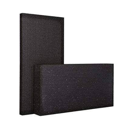 Immagine di Lastre in Blackpor, termoisolante con grafite, sinterizzato, a celle chiuse, autoestinguente classe E 1000x500x80 mm