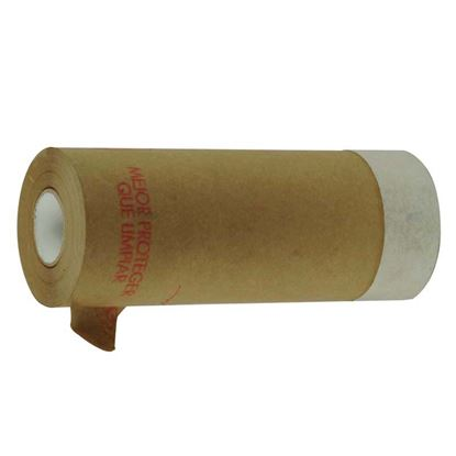 Immagine di Carta di protezione, con adesivo, ideale per la protezione durante la pittura, 0,30x20 mt