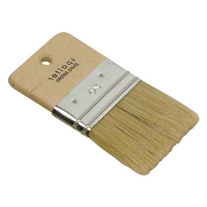 Immagine di Spalter, manico legno, effetto onda, setola, 70 mm