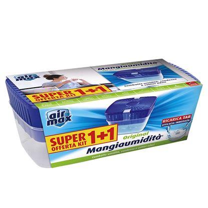 Immagine di Deumidificatore Air Max, ricaricabile, confezione 2 pezzi da 450 gr
