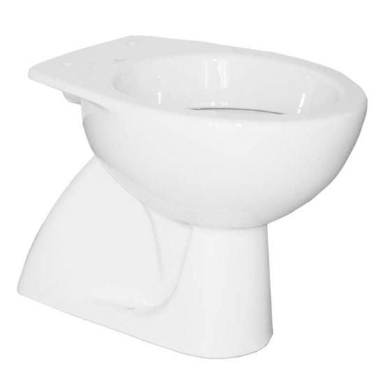 Immagine di Vaso, Colibrì 2, scarico a pavimento, 36x53 cm, colore bianco