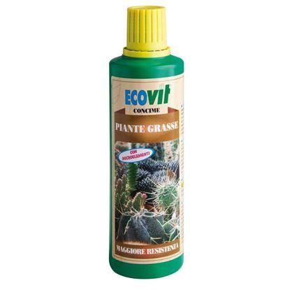 Immagine di Concime Ecovit, liquido, per piante grasse, per tutte le specie di piante grasse, 500 gr