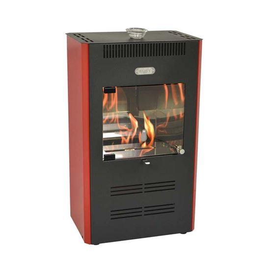 Stufa a bioetanolo Ruby 3000 W, capacità riscaldamento 100 m³ ...