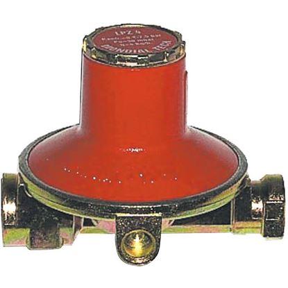 """Immagine di Regolatore bassa pressione, 4 Kg, rullato, entrata Ø 25 mm, uscita 3/8"""""""