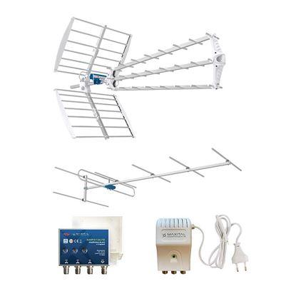 Immagine di Kit antenna HYDRA, antenna III, amplificatore LG, alimentatore LPS, cavo K121W