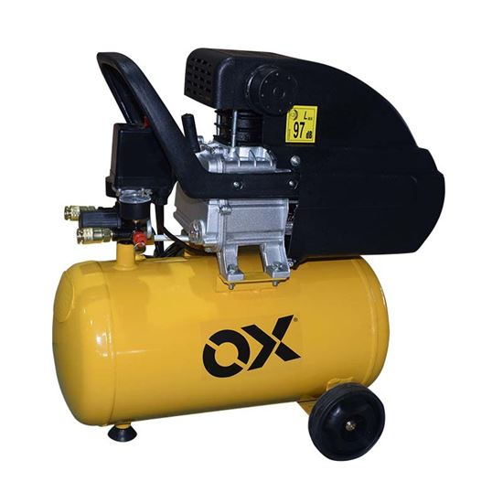 Immagine di Compressore lubrificato 24 lt, 2Hp-1500 W, serbatoio 24 lt, pressione massima 8 bar