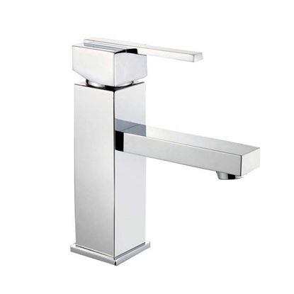 Immagine di Mix lavabo, serie Vale, cromo, monoforo, canna alta, cartuccia 35 mm