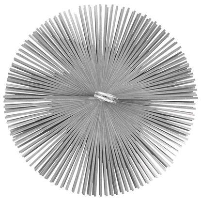 Immagine di Scovolo acciaio, tondo, Ø 150 mm