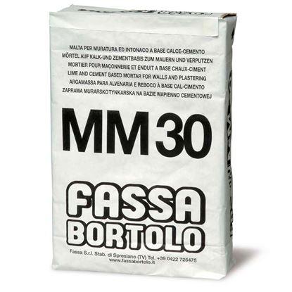 Immagine di malta MM30  per muratura, classe M 5, mattoni e calcestruzzo, 25 kg