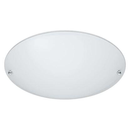 Immagine di Plafoniera Lana, 40W, E27, Ø25 cm, colore bianco, vetro satinato
