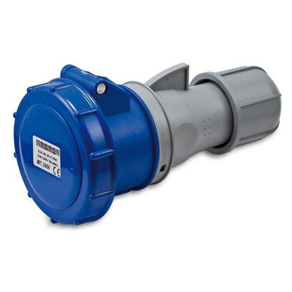 Immagine di Presa industriale dritta, stagna, cablaggio rapido, bassa tensione, 16 A, 6h, 50-60 Hz, IP67, 230 V, 2P+T