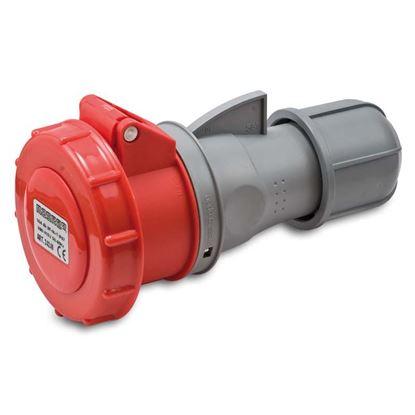 Immagine di Presa industriale dritta, stagna, cablaggio rapido, bassa tensione, 16 A, 6h, 50-60 Hz, IP67, 400 V, 3P+T