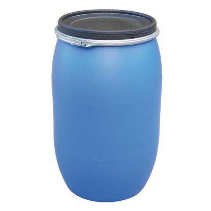 Immagine di Fusto 120 lt, 50x80 cm, Ø 39 cm, colore blu