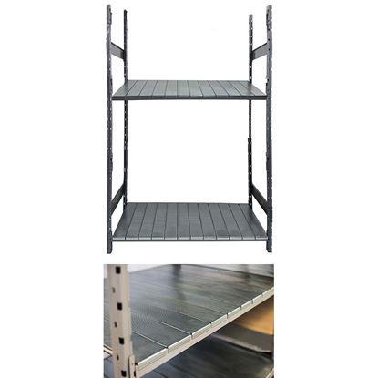Immagine di Corrente sagomato per rack, da 120 cm, portata 400 kg