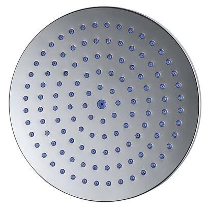 Immagine di Soffione doccia rotondo in abs, anticalcare,  Ø 200 mm