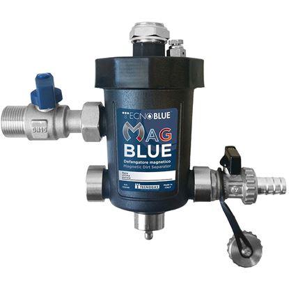 """Immagine di Defangatore Mag Blue magnetico super compatto ¾"""" M"""