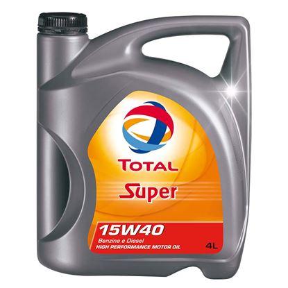 Immagine di Olio Total super 15w40, 4 lt