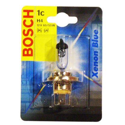 Immagine di LAMPADINA BOSCH, XENON BLUE, PER AUTO, 12 V/60-55 W, H4