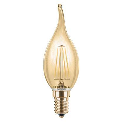 Immagine di LAMPADA LED INCANTO EPOCA COLPO DI VENTO, 4W, E14, LUCE CALDA, 2200°K, 320 LUMEN